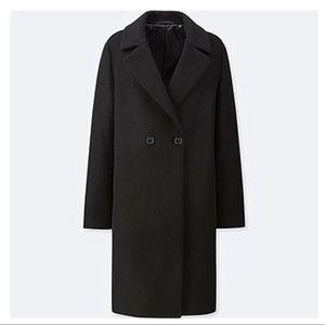Lightweight Wool Blend Coat